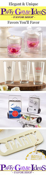 Party Game Ideas - Party Favors, Wedding Favors, Favor Gifts