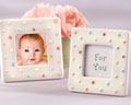 Baby Shower Favor - Dotted Baby Frame