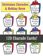 Christmas Charades & Holiday Draw