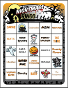 Nightmare Bingo