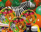 Jungle Party Ideas - Safari Party Theme