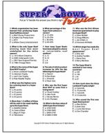 Super Bowl Pools Ideas super bowl party printables including several versions of squares a quiz bingo and more Super Bowl Squares