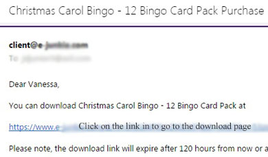 You'll Be Sent an Email w/ a Game Download Link