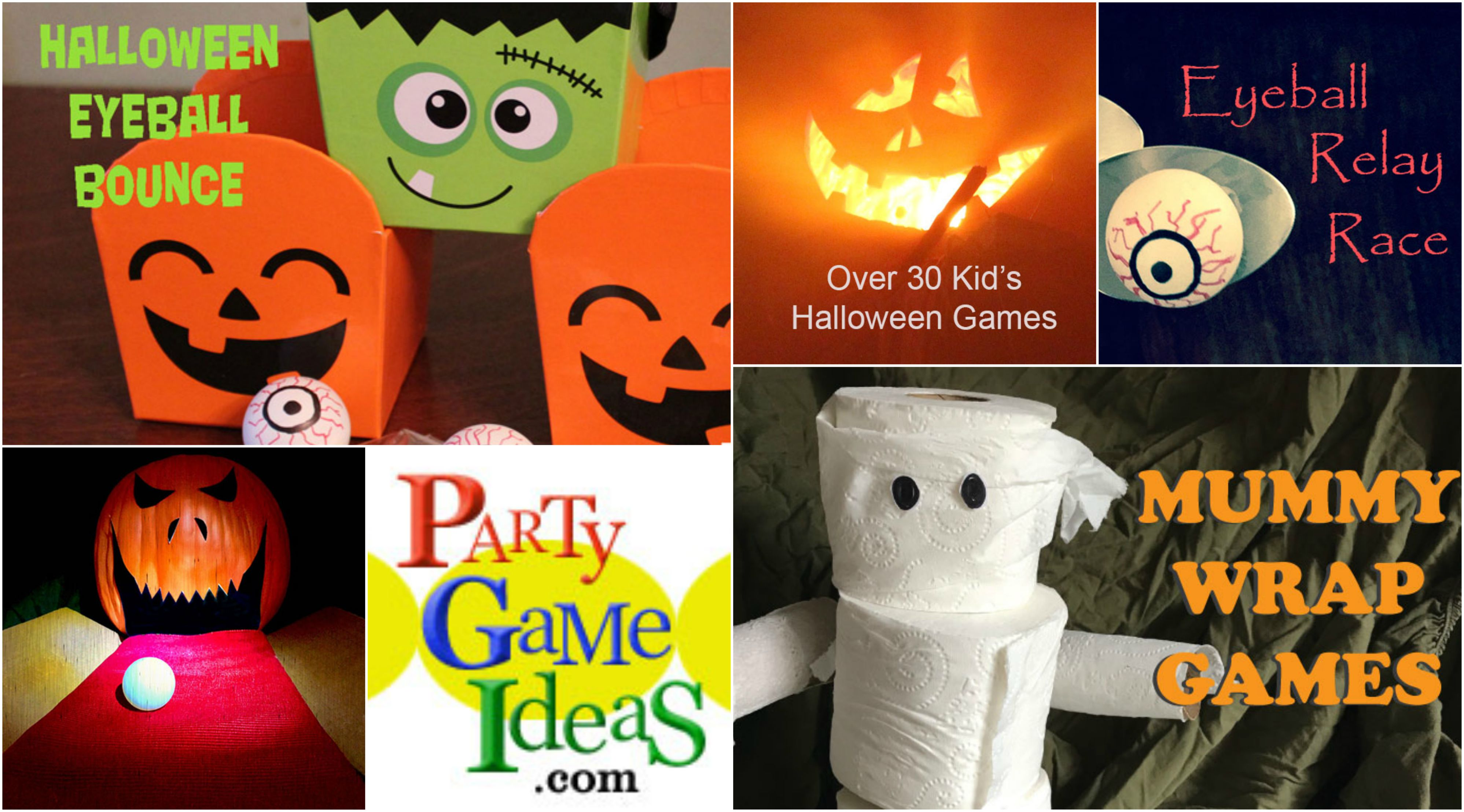 kids halloween games, activities, ideas for children ages 3 to 7